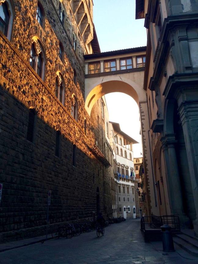 From the Piazzo della Signoria to the Uffizi by Nathan Cox