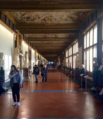 Inside the Uffizi by Nathan Cox