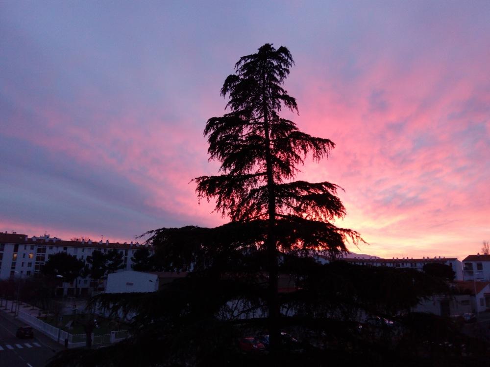 Perpignan Skies from my back window